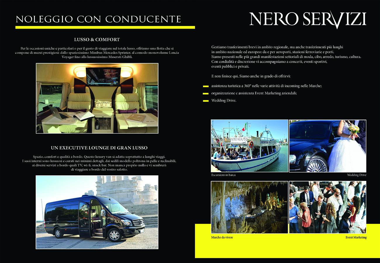 brochure nero servizi